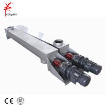 Standard U vertical trough shaft auger screw conveyor