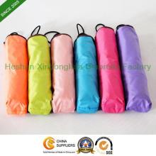 Coloré pliage parapluie avec vernis UV pour Dame (FU-3821BJP)