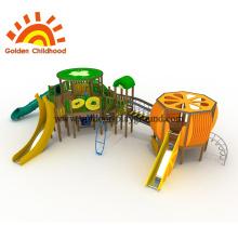 Kiwi e laranja Playground ao ar livre para crianças