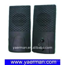 Un altavoz de plástico negro completo para la promoción de cine en casa / estéreo para la promoción de cine en casa / estéreo