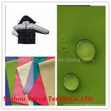 Taslon en nylon avec imperméable pour les vêtements d'extérieur de vêtements