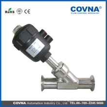 90 degree Angle Valve /2 Way Pneumatic Stainless Angle Seat Valve /Pneumatic Control Valve