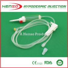 Infusión IV desechable de Henso con Y-Site