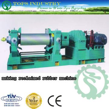 Recycling-Gummi-Maschine und regenerierte Gummi-Produktionslinie
