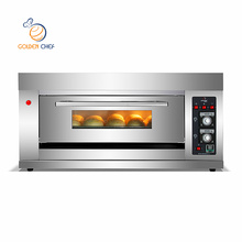 1 deck 3trays/gas oven for bakery/bread baking equipment