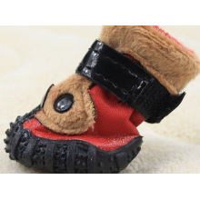 Comfortable Handsome Pet Dog Strap , Sports Pet Dog Shoes For Autumn / Winter
