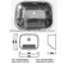 Fregadero del lavadero del solo cuenco SUS 304 del acero inoxidable