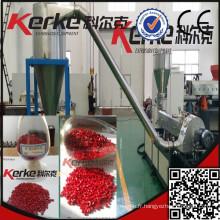 Usine chinoise professionnelle à une seule vis pp / pe essence extrudeuse en plastique