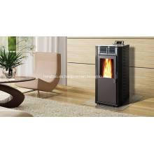 Estufa de pellets de madera frente a calor eléctrico