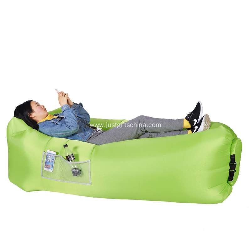 Custom Patented Inflatable Lounger With Logo Printed