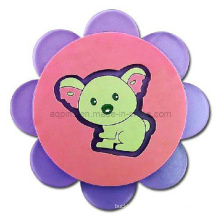 Custom Soft PVC Coaster in Factory Price (Coaster-17)