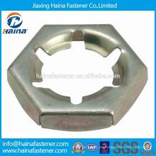 En existencia China Supplier Best Price DIN7967 Acero inoxidable pal nueces