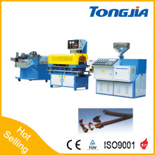 PVC/PE Single-Wall Corrugated Cable Pipe Production Line