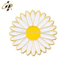 Shuanghua benutzerdefinierte Metall Sonnenblumen Metall Anstecknadel für Souvenir