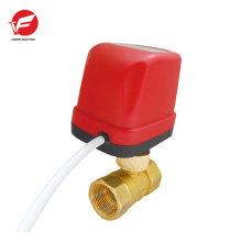 Água motorizada desligamento automático controle direcional da válvula hidráulica