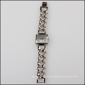 top fashion women stainless steel case back watch bracelet
