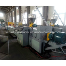 High-Efficient WPC Profile Extrusion Production Line