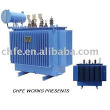 Energía eléctrica transformador inmerso en aceite de 20kV