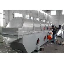 Máquina secadora de lecho fluido vibrato ácido cianúrico