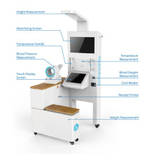 Health Screening Kiosk with Blood Pressure Measurement