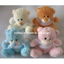 Plush Toy T-Shirt Stuffed Teddy Bear Plush Toy