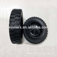 """Solid Rubber Wheel 8""""x2.25"""" for Barbecue,Utility carts, push carts,etc"""