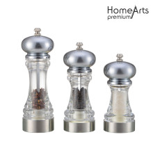 Hand Glass Pepper&Salt Mill/Grinder