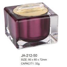 Leere kosmetische Arylic Jar Container