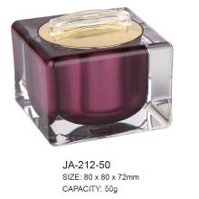 Conteneur de Jar Arylique cosmétique vide