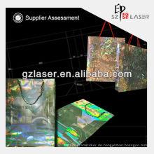 Laser-Schnitttasche, Laserdrucker Papiertüten