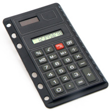 Mini calculatrice pour ordinateur portable Super Thin Loose-Leaf avec règle