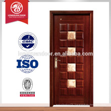 Factory Custom Wooden Building Doors, Glass Fire-Proof Door
