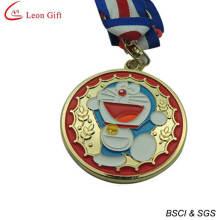 Medalha de Doraemon esmalte de alta qualidade para lembrança (LM1261)