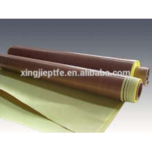 0.18mm PTFE Glass Cloth Silicone Adhesive Tape with Release Paper