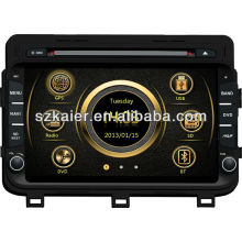Touch screen car dvd gps for Kia 2014 K5/Optima with GPS/Bluetooth/Radio/SWC/Virtual 6CD/3G internet/ATV/iPod/720P RM/720P RMVB