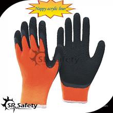 SRSAFETY 7G подгузник с акриловым латексным покрытием зимняя перчатка / термальные перчатки