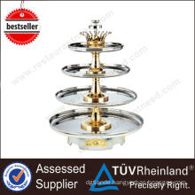 Guangzhou Supplier Stainless Steel Large Chocolate Fountain Machine
