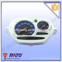 China Großhandel weißen Motorrad U / min Meter