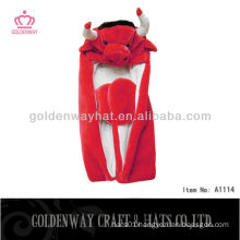 Red Bull Adult Winter Hat animal hats cheap for wholesale