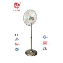 Ventilador de metal eléctrico de 16 pulgadas para uso doméstico con diseño clásico