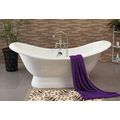 Double Slipper Tub With Pedestal Base