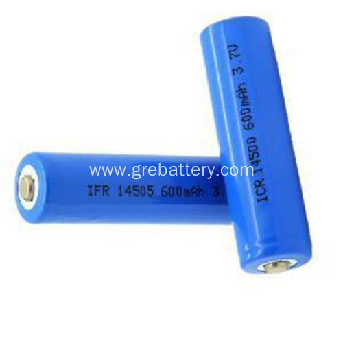 3.7V 600mAh AA Lithium Ion Battery