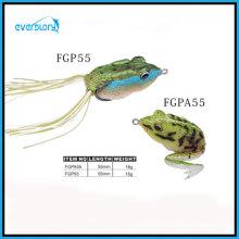 Leurre de grenouille fait à la main de 55 cm avec queue ou sans leurre de pêche de queue
