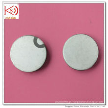 Ultra-sônico 28mm 1MHz Pzt Crystal Pzt-5A Piezoceramic