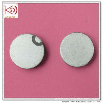 Ultrasonic 28mm 1MHz Pzt Crystal Pzt-5A Piezoceramic