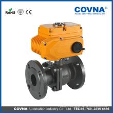 Aceite caliente industrial acero de carbón 220v av válvula de bola de descarga eléctrica
