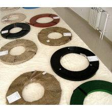 Cerclage en acier / courroies de fer / courroie de bande / courroies d'emballage