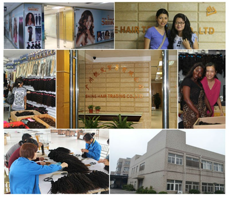 human hair extension company details