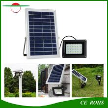 5W Solar Flood Light Imperméable IP65 Outdoor Solar Floodlight 54LED High Brightness Garden Light