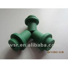 arandelas de goma verde